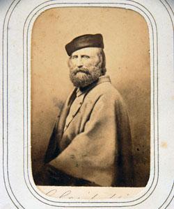 Garibaldi con cappello