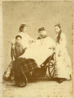 Garibaldi in carrozzina
